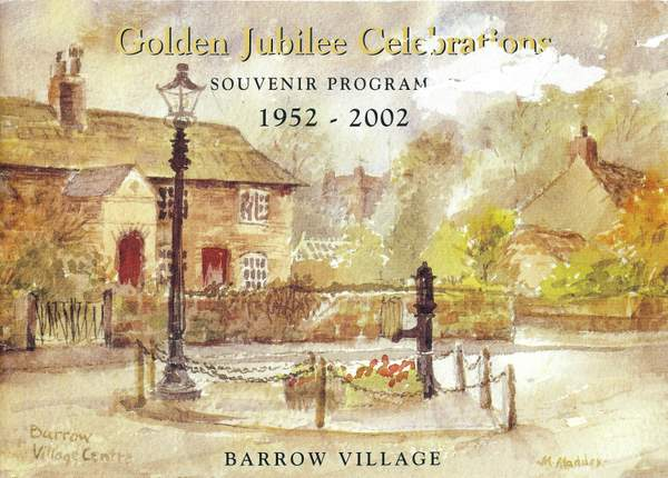 Front cover of the 2002 Queen\'s Golden Jubilee Souvenir