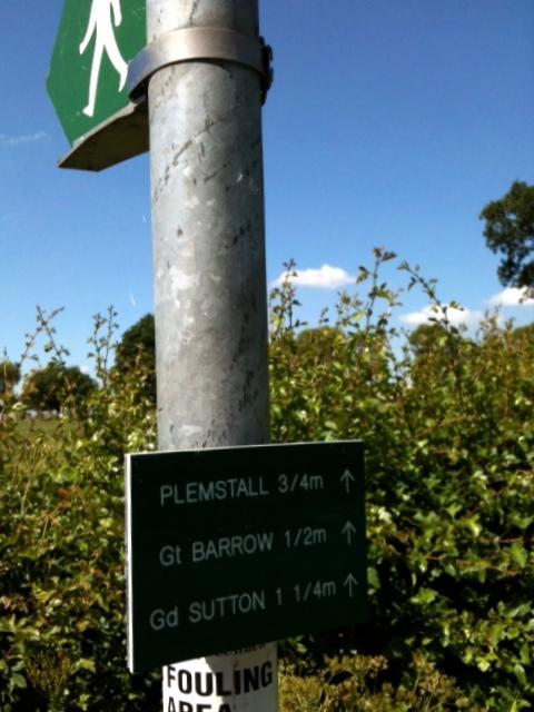 Barrow signpost