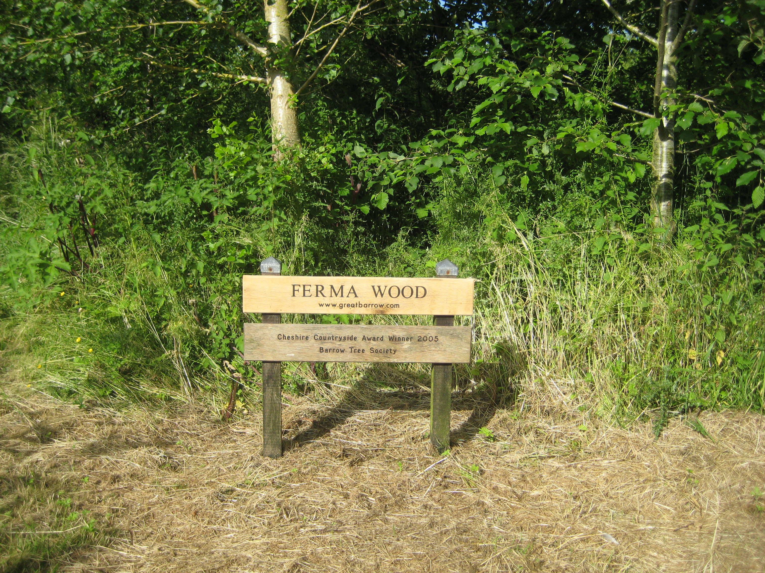 Ferma Wood, Barrow, Cheshire