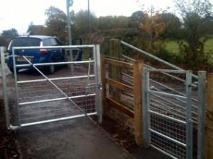 B5132 Footpath Gates