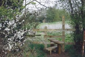 Stile at Nabs Wood